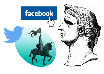 storia facebook twitter infografica